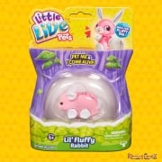 Little Live Pets Lil' Fluffy Rabbit - Bow Bunny