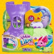 Little Live Pets Lil' Fluffy Tree House with White Berrytail