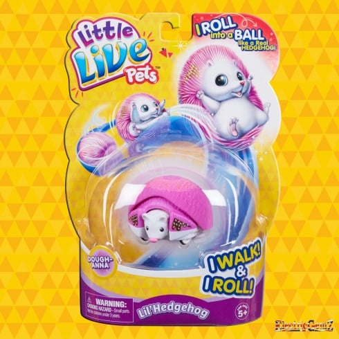 Little Live Pets Series 2 Hedgehog - Dough-Anna