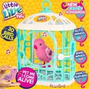 Little Live Pets Series 5 Bird with Cage - Pink Ruby Belle