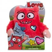 Love Monster Giggle and Hug Feature Soft Toy