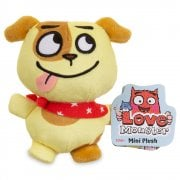 Love Monster Mini Plush Soft Toy - Bad Idea Puppy