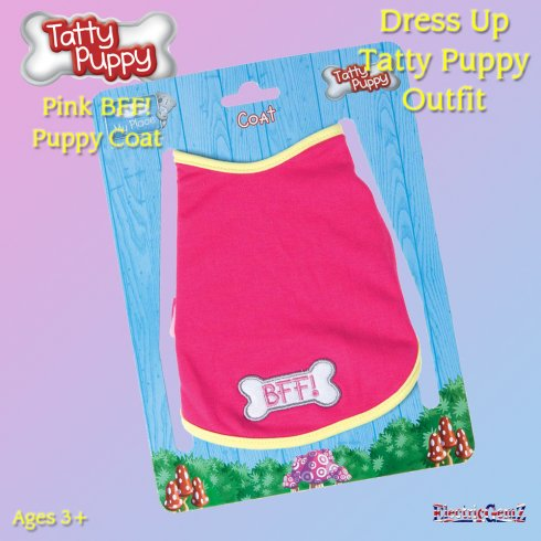 Me To You Dress Up Tatty Puppy Outfit - BFF Puppy Coat