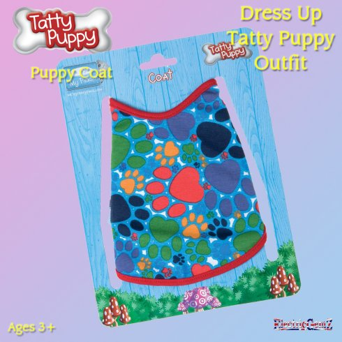 Me To You Dress Up Tatty Puppy Outfit - Puppy Coat