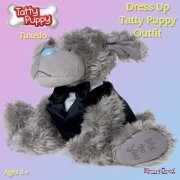 Me to You Tatty Teddy Me To You Dress Up Tatty Puppy Outfit - Tuxedo
