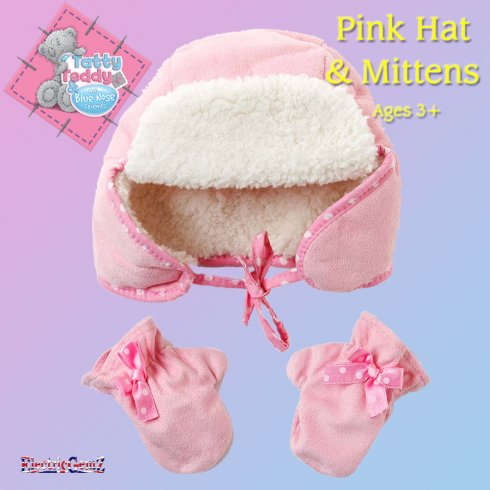 Me To You Dress Up Tatty Teddy Outfit - Dress Up Hat and Mittens