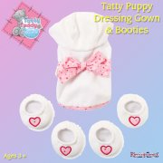 Me to You Tatty Teddy Me To You Join In and Play Puppy Outfit - Dressing Gown and Booties