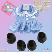 Me to You Tatty Teddy Me To You Join In and Play Puppy Outfit - School Coat and Shoes