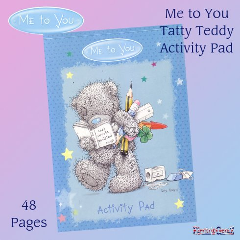 Me to You Tatty Teddy Activity Pad