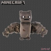 Minecraft 18cm Animal Mob Bat Soft Toy