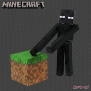 Minecraft 3in Action Figure - Enderman