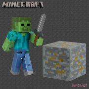 Minecraft Series 2 Overworld - 3in Action Figure - Zombie