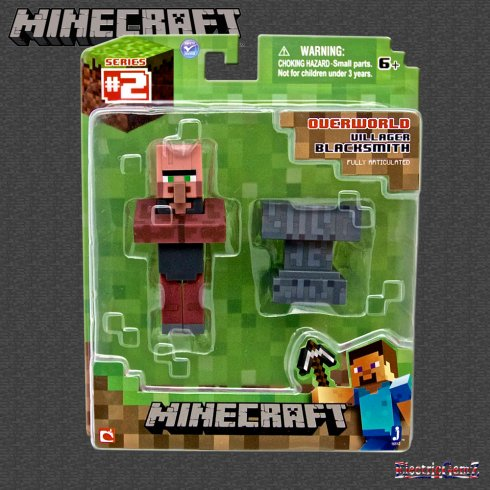 Minecraft Series 2 Overworld - 3in Overworld Villager Blacksmith