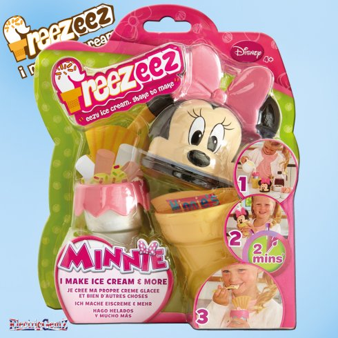 Minnie Mouse Freezeez Ice Cream Maker