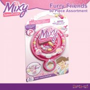 Mixy Furry Friends 50 Piece Assortment