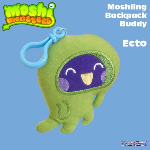 Moshi Monsters Backpack Buddy Ecto