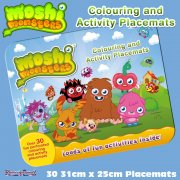 Moshi Monsters Colouring and Activity Placemats
