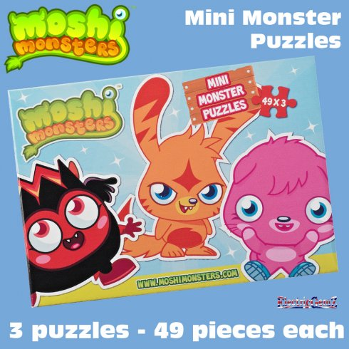 Moshi Monsters Mini Monster Puzzles