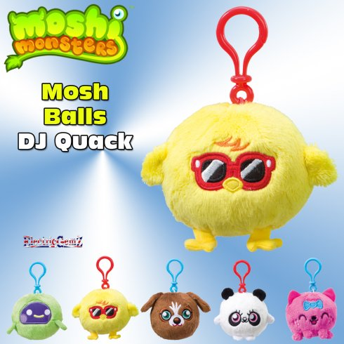 Moshi Monsters Mosh Balls DJ Quack