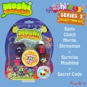 Moshi Monsters Moshlings Series 3 5 Figure Pack 5