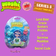 Moshi Monsters Moshlings Series 5 5-Figure Pack 5
