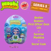 Moshi Monsters Moshlings Series 5 5-Figure Pack 8