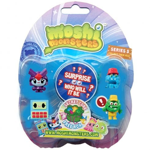 Moshi Monsters Moshlings Series 5 5-Figure Special Pack 11