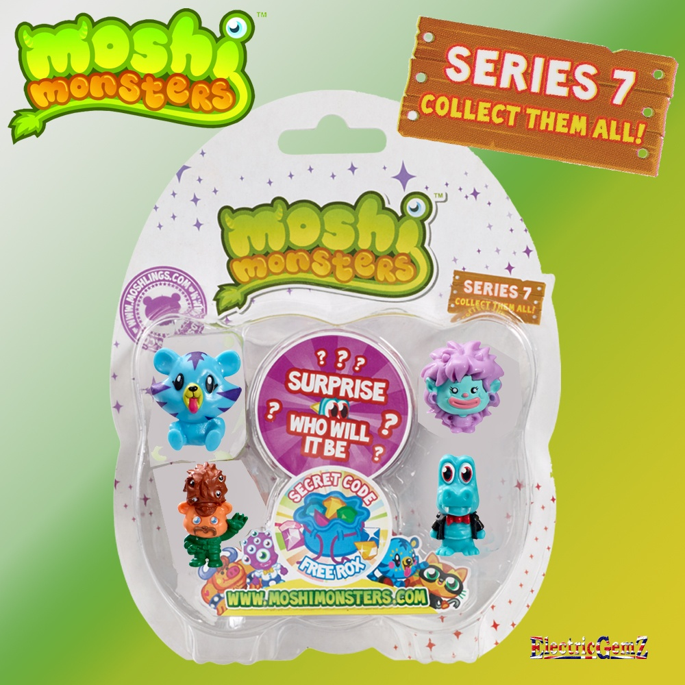 Moshi Monsters SERIES 6 MOSHLINGS! - YouTube