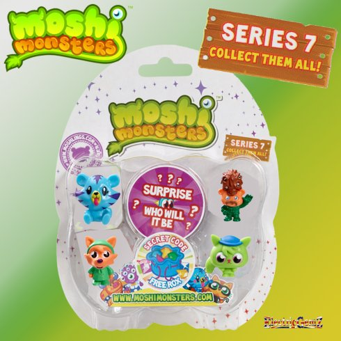 Moshi Monsters Moshlings Series 7 5-Figure Pack 6