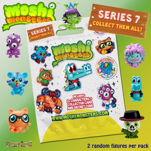 Moshi Monsters Moshlings Series 7 Blind Bag