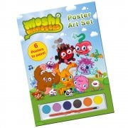 Moshi Monsters Poster Art Set