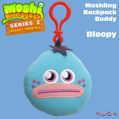 Moshi Monsters Series 2 Backpack Buddy Bloopy
