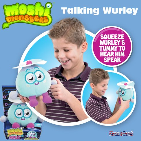 Moshi Monsters Talking Wurley