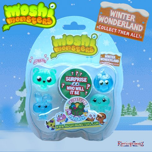 Moshi Monsters Winter Wonderland 5-figure Pack 1