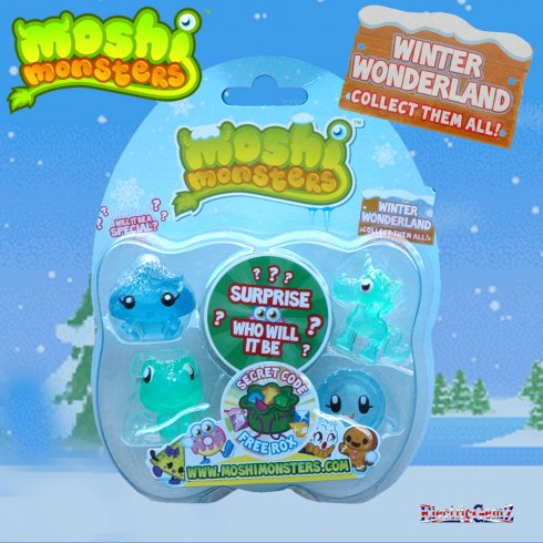 Moshi Monsters Winter Wonderland 5-figure Pack 3