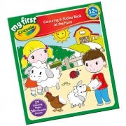 My First Crayola Colouring and Sticker Book - At the Farm