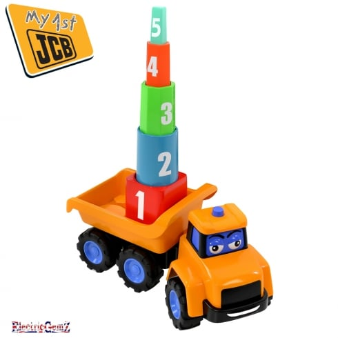 My First JCB Stacking Stanley Mega Truck