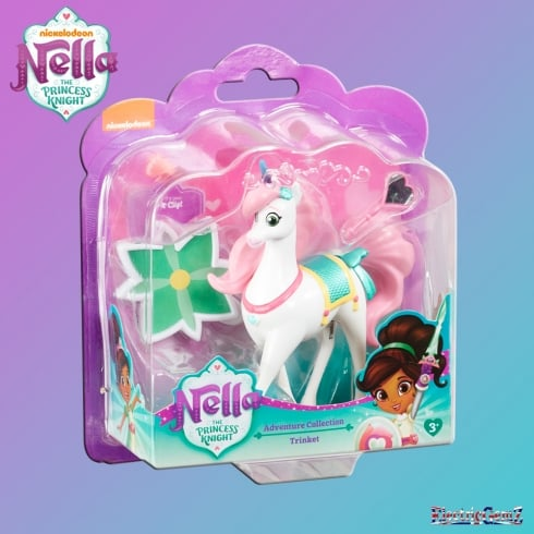 Nella the Princess Knight Adventure Collection - Trinket the Unicorn Figure