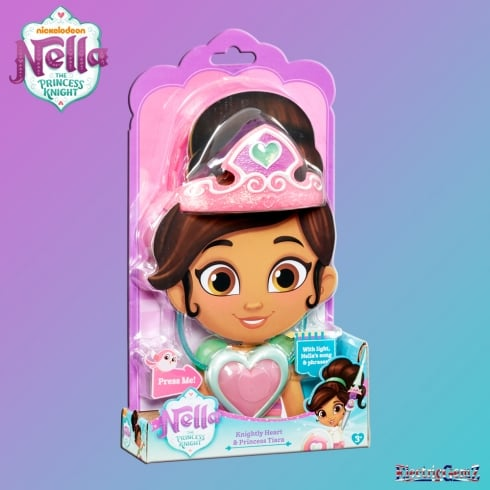Nella the Princess Knight - Knightly Heart & Princess Tiara