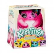 Nestlings Interactive Pet and Babies with Lights and Sounds - Pink