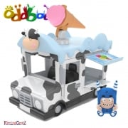 Oddbods Action Vehicles - Pogo's Ice Cream Van
