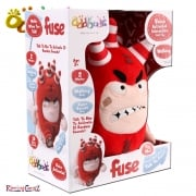 Oddbods Voice Activated Interactive Soft Toy - Fuse