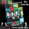 Official JLS Fact File Sticker Book