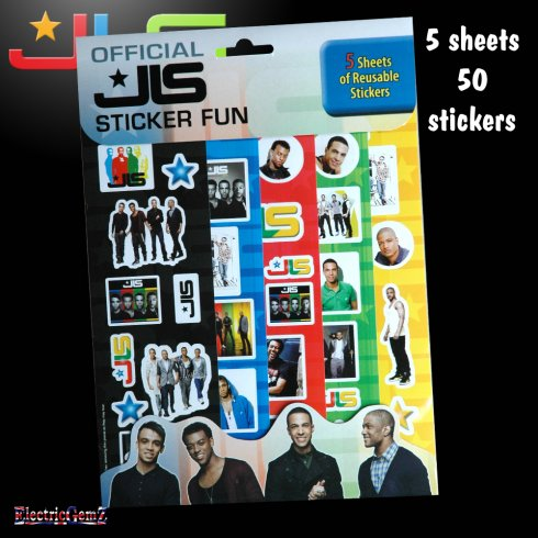 Official JLS Sticker Fun