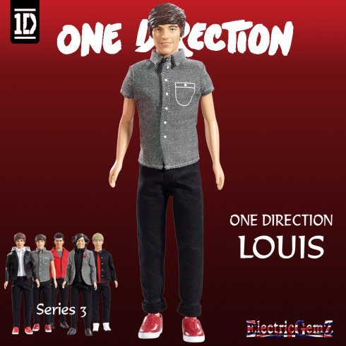 One Direction Series 3  Fashion Doll Louis