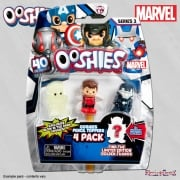Ooshies Marvel Heroes 4-Pack Wave 2 Mix 2