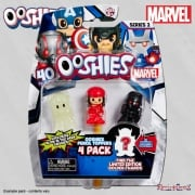 Ooshies Marvel Heroes 4-Pack Wave 2 Mix 4