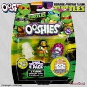 Ooshies Teenage Mutant Ninja Turtles 4-Pack Wave 1 Mix 4