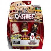 Ooshies WWE 4-Pack Wave 1 Mix 3