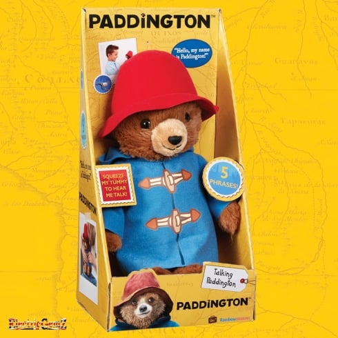 Paddington Movie Collection - 30cm Talking Paddington Plush